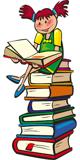 Kind und Bücher